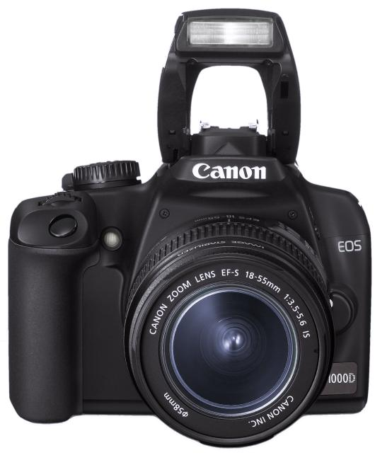 Einsteiger-Modell Digitalkamera Canon EOS 1100D